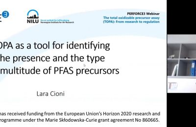 PERFORCE3 Webinar 3: The total oxidizable precursor assay (TOPA): From research to regulation